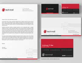 nº 55 pour Design a stationery for IT Company (Logo Provided) par graphstas