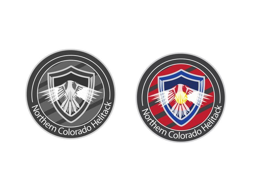 Kilpailutyö #1 kilpailussa Design a Logo for Colorado Helicopter Fire Crew