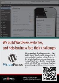 Nro 8 kilpailuun one page A5 leaflet/brochure käyttäjältä yaris196