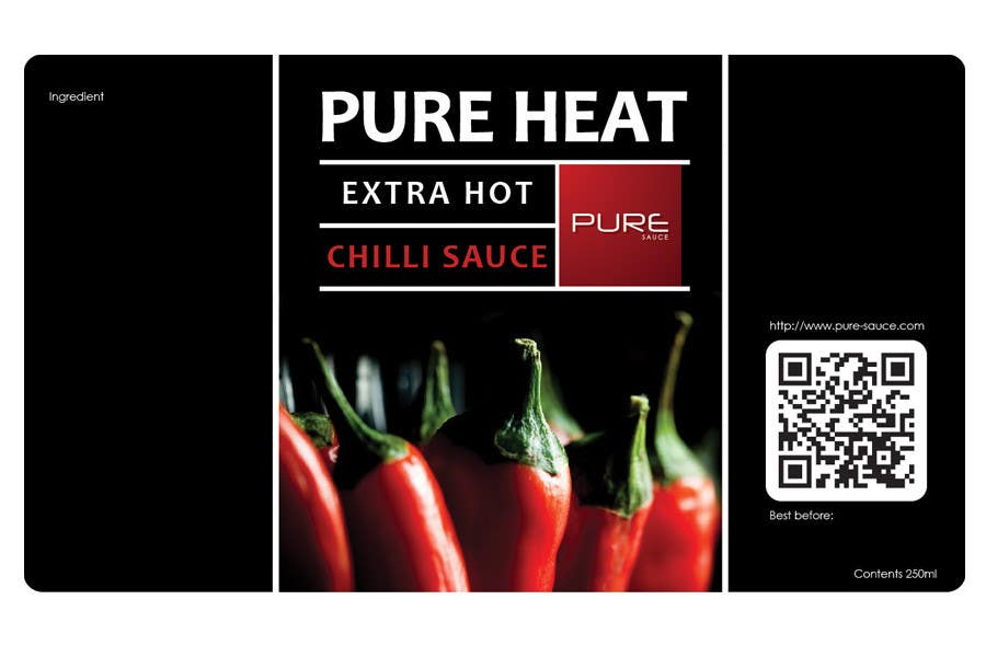 #49 for Graphic Design for Chilli Sauce label by SiNR