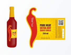 #84 för Graphic Design for Chilli Sauce label av brendlab