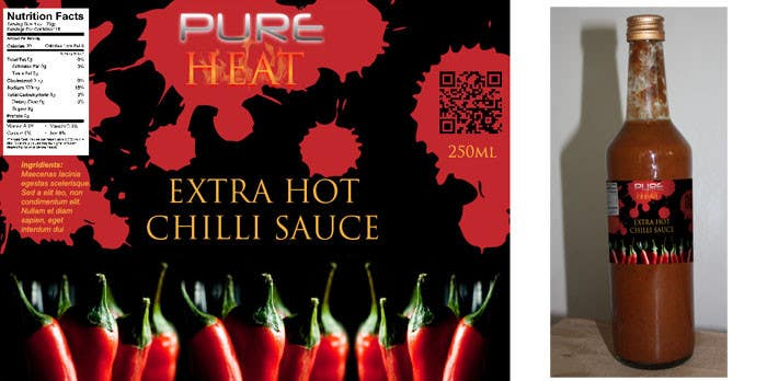 Contest Entry #70 for Graphic Design for Chilli Sauce label