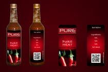 #88 for Graphic Design for Chilli Sauce label by jamesetallaz