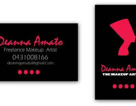 #11 para Design some Business Cards for Makeup Artist por contactdenis