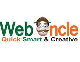 #24 para Design a Logo for WEB UNCLE, INDIA por sandanimendis