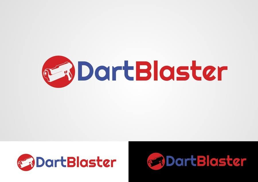 Konkurrenceindlæg #                                        65                                      for                                         Logo Design for Dartblaster Website