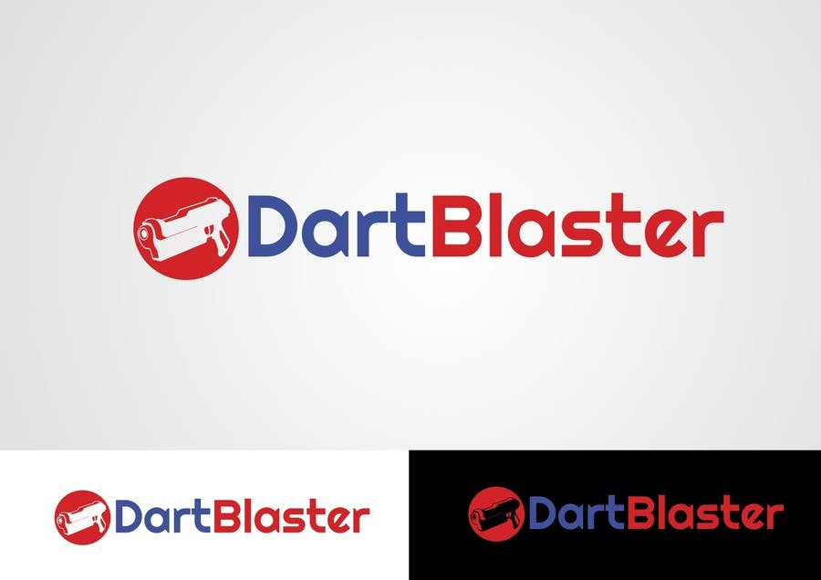 Kilpailutyö #65 kilpailussa Logo Design for Dartblaster Website