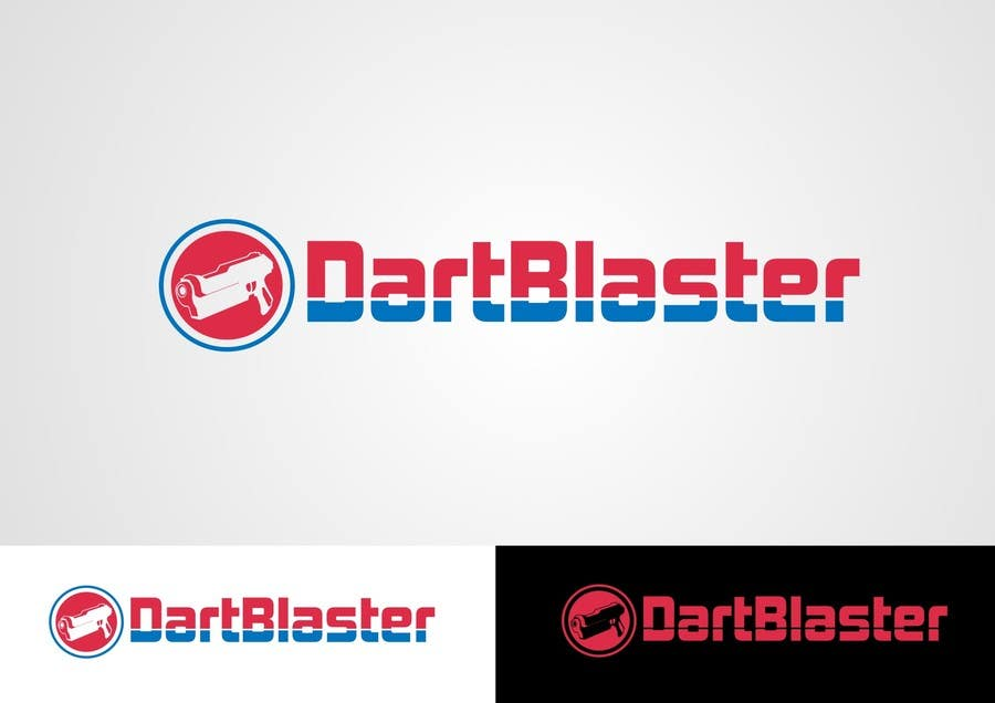 Kilpailutyö #67 kilpailussa Logo Design for Dartblaster Website
