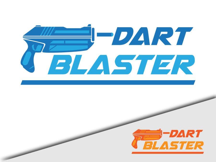 Konkurrenceindlæg #                                        51                                      for                                         Logo Design for Dartblaster Website