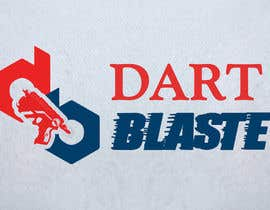 #58 para Logo Design for Dartblaster Website por vaibhavjd21