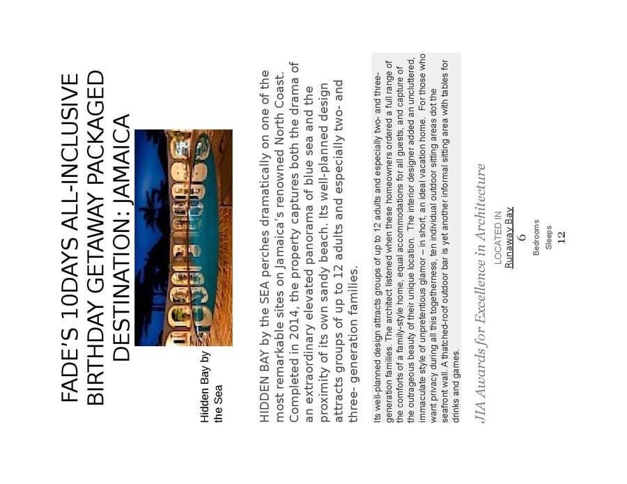 Konkurrenceindlæg #                                        10                                      for                                         Design an e- Brochure plus a printable version