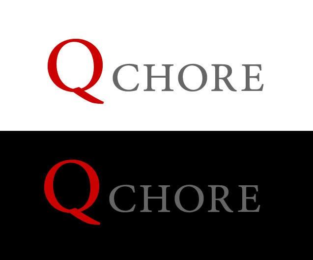 """Penyertaan Peraduan #156 untuk Design company Logo """"QCHORE"""""""
