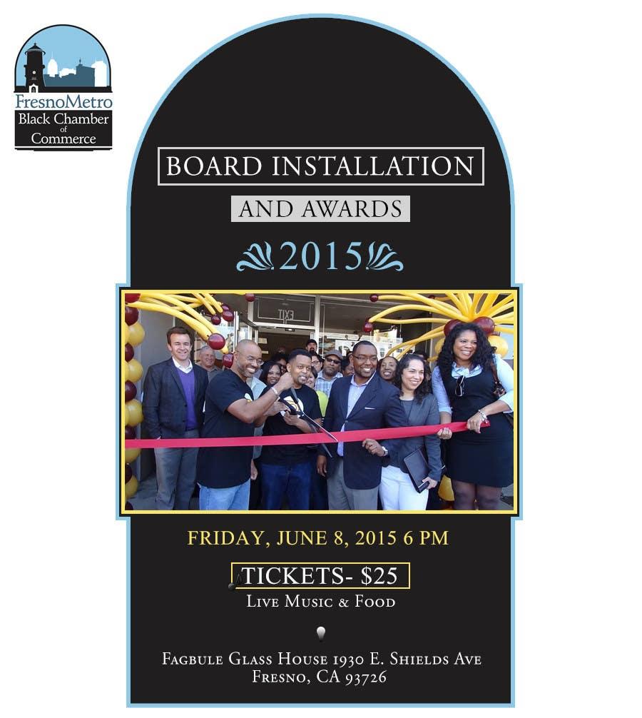 Penyertaan Peraduan #8 untuk Chamber Board Installation Event