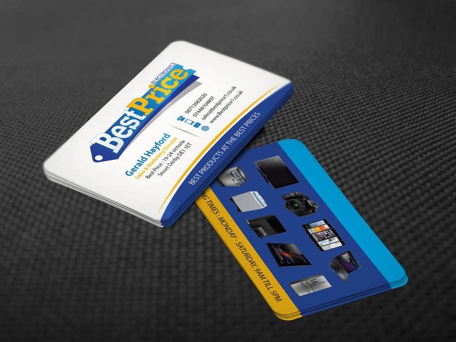 Penyertaan Peraduan #5 untuk Design some Business Cards for best price