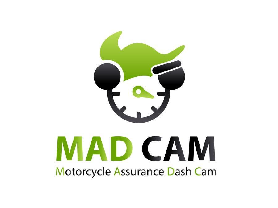 Konkurrenceindlæg #                                        13                                      for                                         Design a Logo & App Icon for MAD Cam (Motorcycle Assurance Dash Cam app)
