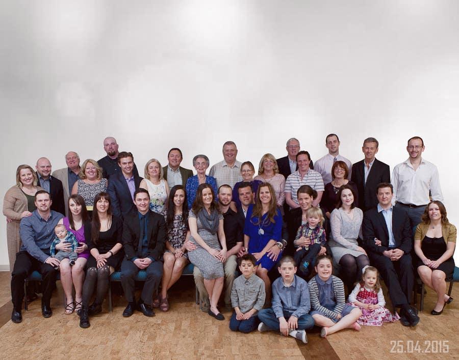 Konkurrenceindlæg #17 for 4 Generation family photo edit