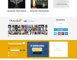 #7 untuk Design the homepage of my website oleh webmastersud