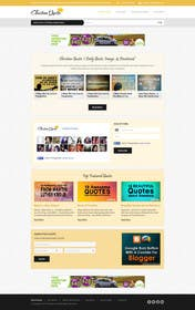 #19 untuk Design the homepage of my website oleh kreativeminds