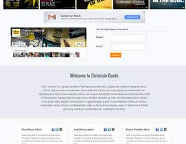 #1 untuk Design the homepage of my website oleh sabhyata18