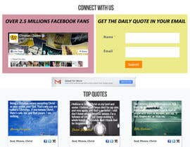 #5 untuk Design the homepage of my website oleh sabhyata18