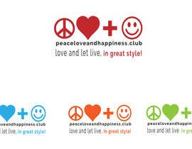 Sanja3003 tarafından Design a Logo for www.peaceloveandhappiness.club için no 23
