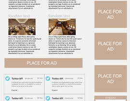 Mince321 tarafından Design a Website Mockup for Private Jet company için no 11