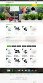 #12 untuk Design a Website Mockup for TheGreenOffice.com oleh kreativeminds