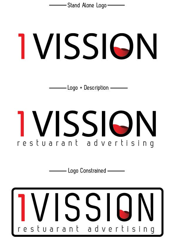 Konkurrenceindlæg #                                        44                                      for                                         We need new logo for advertising company 1Vision