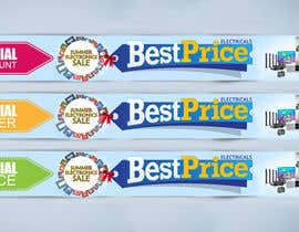 nº 47 pour Design a Banner for Electronic store Best Price par PRITI6PRITI