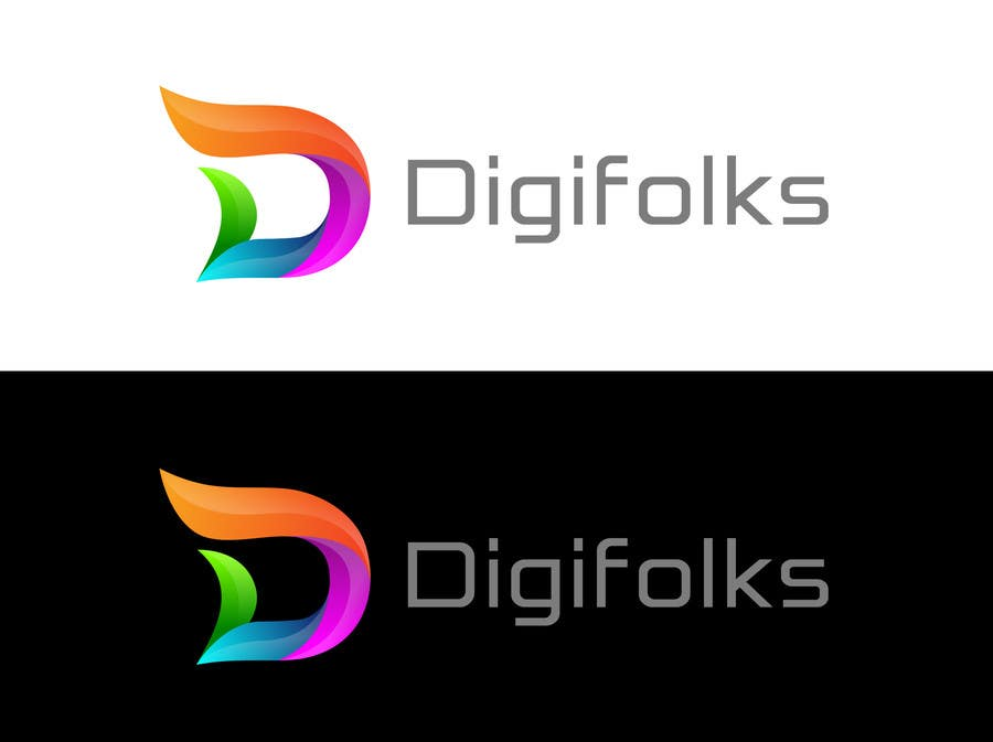 Konkurrenceindlæg #                                        6                                      for                                         Create a logo for Digifolks, a new Digital Marketing Consulting Company