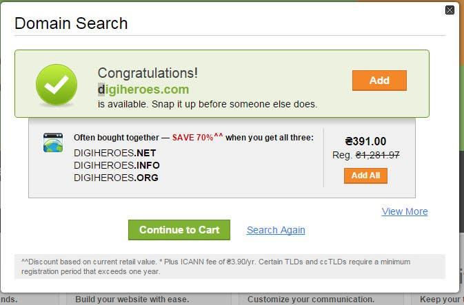 Inscrição nº 63 do Concurso para Domain Name Contest