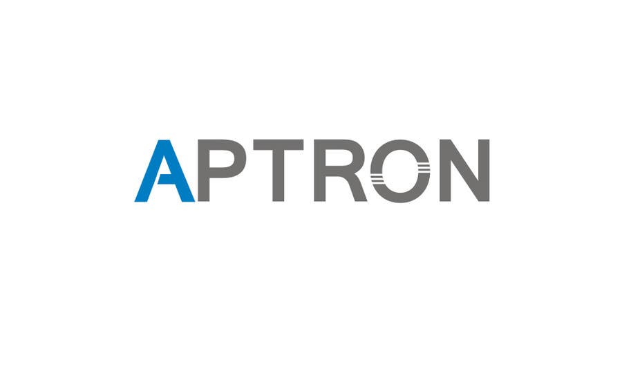 "Contest Entry #                                        61                                      for                                         Design a Logo for ""APTRON"""