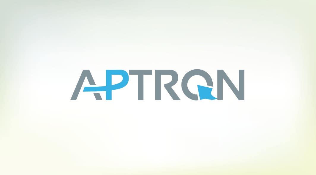 """Contest Entry #                                        16                                      for                                         Design a Logo for """"APTRON"""""""