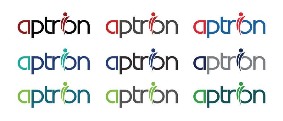 """Contest Entry #                                        77                                      for                                         Design a Logo for """"APTRON"""""""