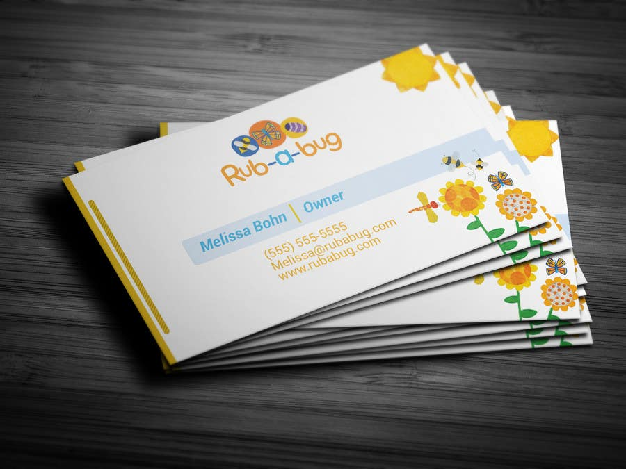 Contest Entry #                                        44                                      for                                         Design some Business Cards for Rub-a-Bug