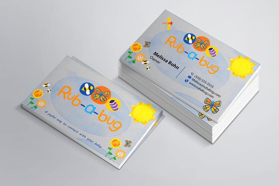 Bài tham dự cuộc thi #31 cho Design some Business Cards for Rub-a-Bug