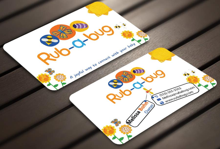 Contest Entry #                                        32                                      for                                         Design some Business Cards for Rub-a-Bug