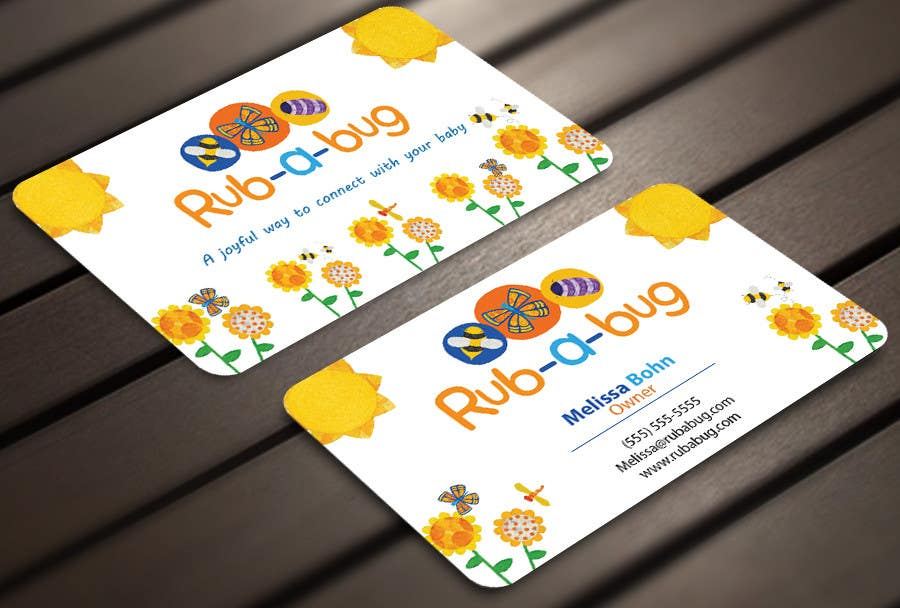 Contest Entry #                                        41                                      for                                         Design some Business Cards for Rub-a-Bug