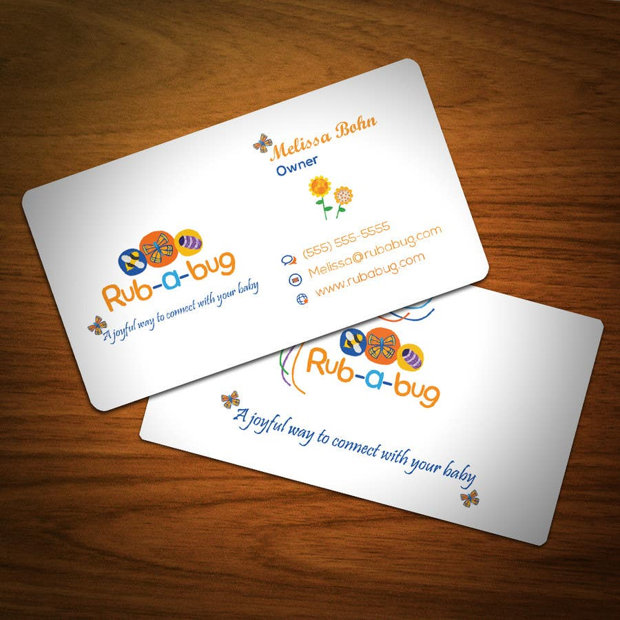 Konkurrenceindlæg #                                        37                                      for                                         Design some Business Cards for Rub-a-Bug
