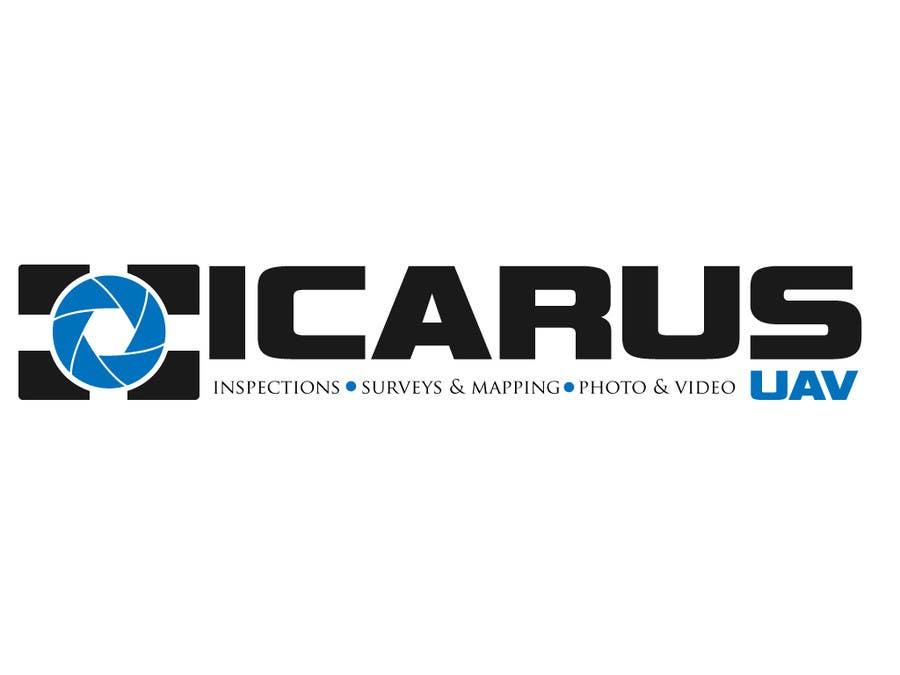 Konkurrenceindlæg #                                        22                                      for                                         Design a Logo for ICARUS UAV.COM