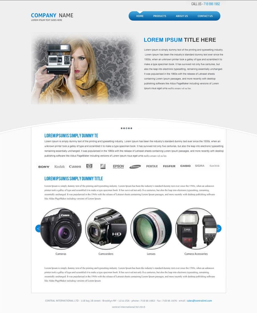 Bài tham dự cuộc thi #                                        3                                      cho                                         Design a Website Mockup
