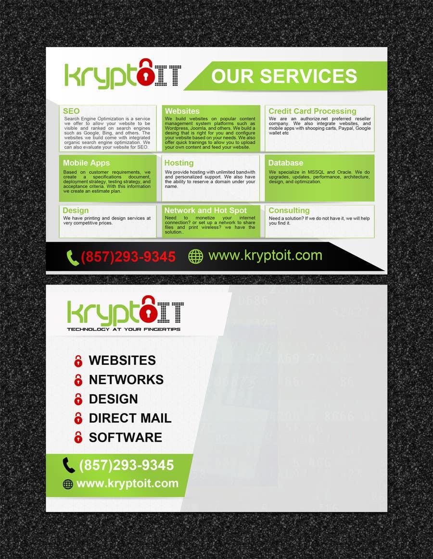 Konkurrenceindlæg #24 for Design a Flyer for mass printing
