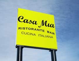 nº 21 pour Casa Mia Ristorante 2 par topprofessional