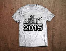 Nro 10 kilpailuun Design a T-Shirt for SandBass Festival käyttäjältä Jackie2110
