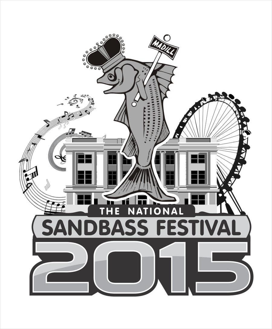 Contest Entry #                                        3                                      for                                         Design a T-Shirt for SandBass Festival