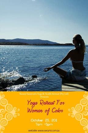 Bài tham dự cuộc thi #                                        5                                      cho                                         Graphic Design for Swami Sarasvati's Yoga & Health Retreat (Pty Ltd)