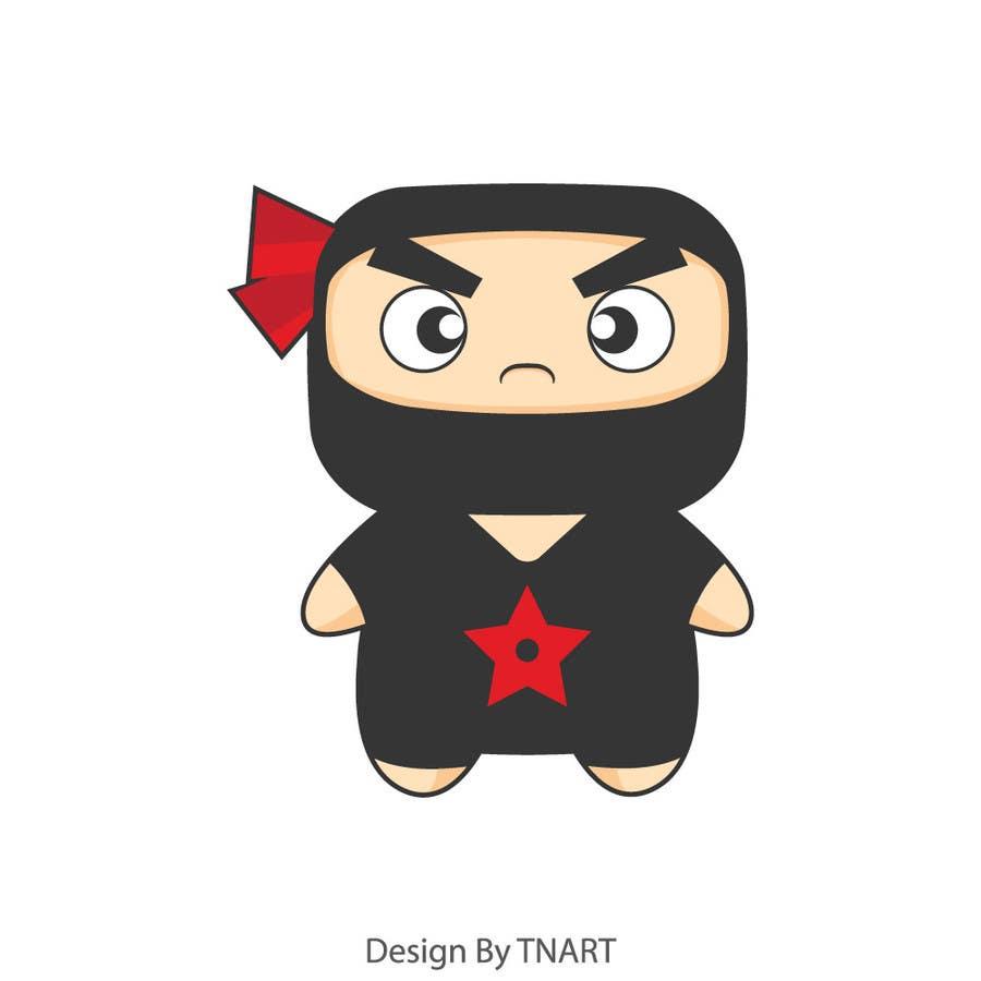 Bài tham dự cuộc thi #26 cho Design a logo / mascot character: adorable ninja!