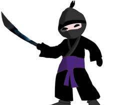 #20 para Design a logo / mascot character: adorable ninja! por abinandhanan