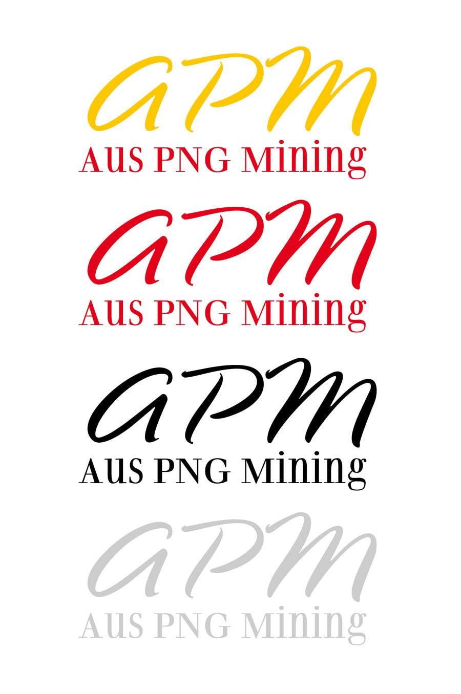 Bài tham dự cuộc thi #                                        22                                      cho                                         Design a Logo for Modern Mining Company