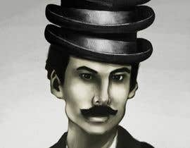 #6 para Create a Portrait Drawing of a late 19th Century Man wearing Multiple Bowler Hats por serbandumitru